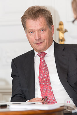 Interview with Finnish President Niinistö
